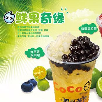 coco春季茶饮